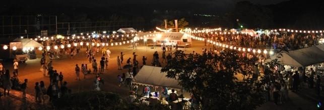 例年の自治会納涼祭風景