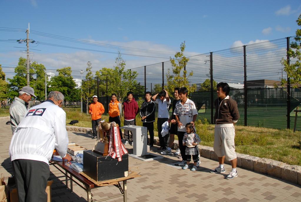市民テニス大会/ふれあい緑地コート