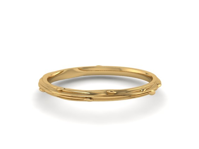 Organic Sunrise wedding ring Emma Hedley Jewellery whimsical 18 ct Fairtrade gold