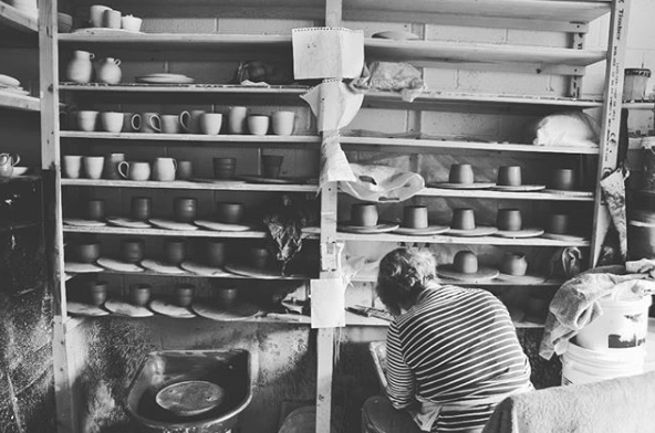 Raw Pots North East, Hand Thrown Ceramic Glazed Crockery, The Northern Giftbox Collaboration