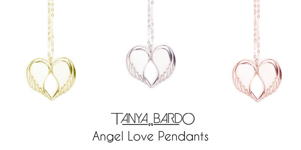 Tanya Bardo angel love pendants