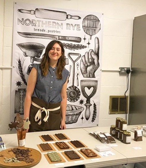 Lillie of Abaissé Chocolatier, The Northern Giftbox Collaboration