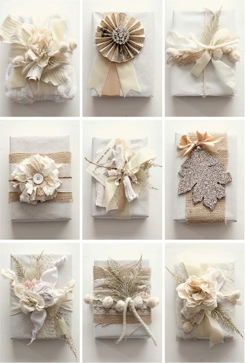 beautiful gift wrapping
