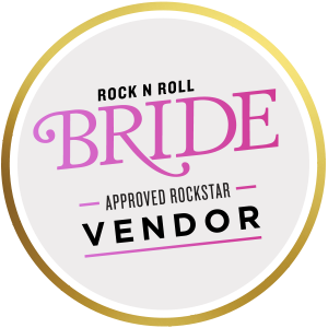 rock and roll bride approved vendor