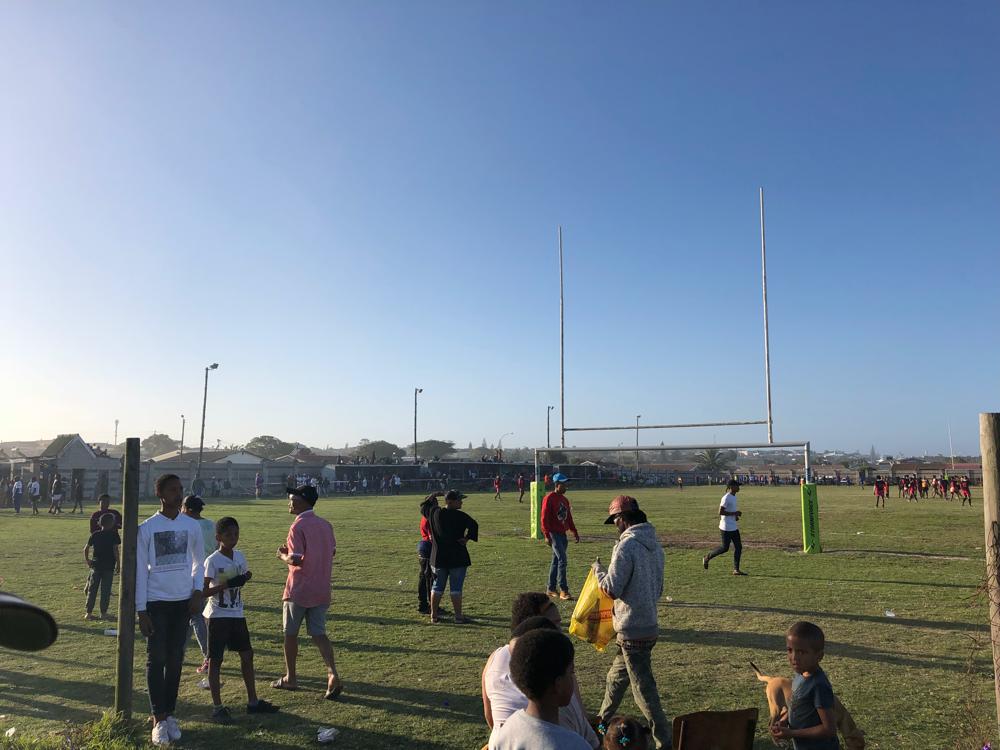 Beim Rugbyturnier