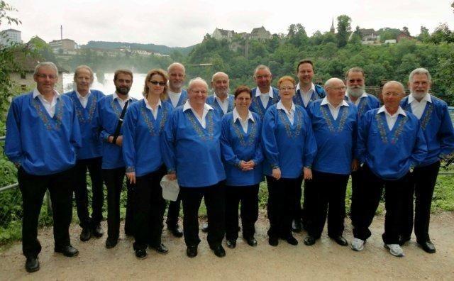 Jodlerreisli 2013 am Rheinfall
