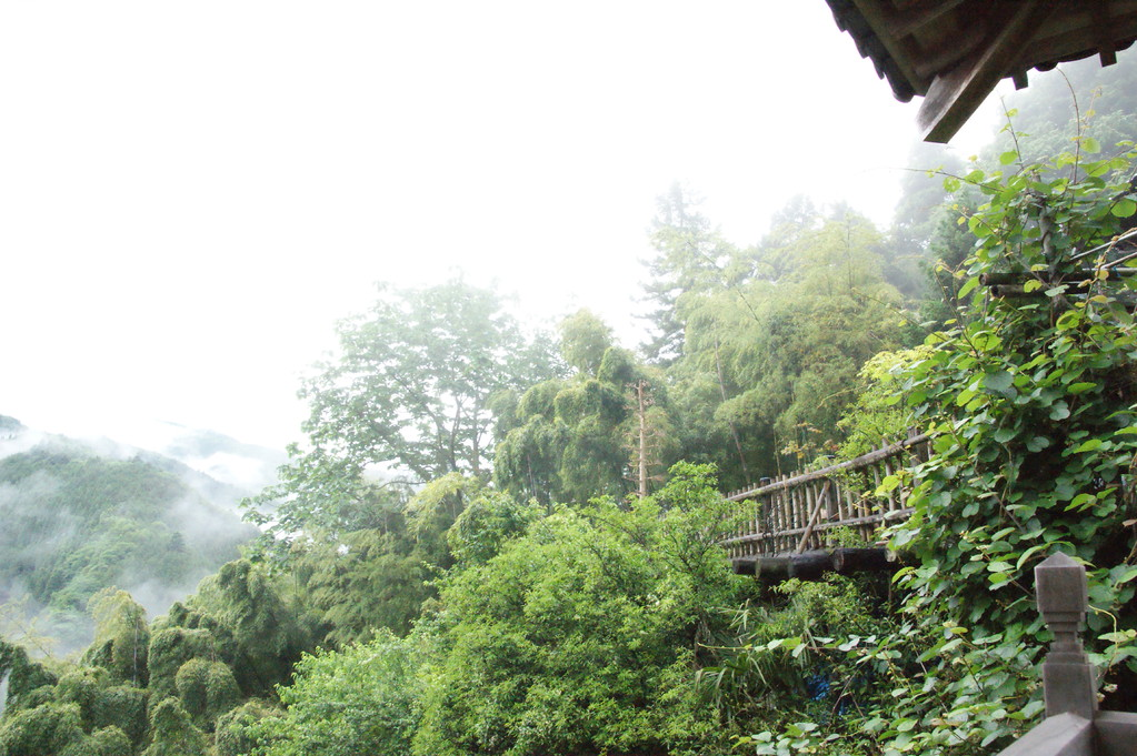 民宿より見る山並み風景 -9