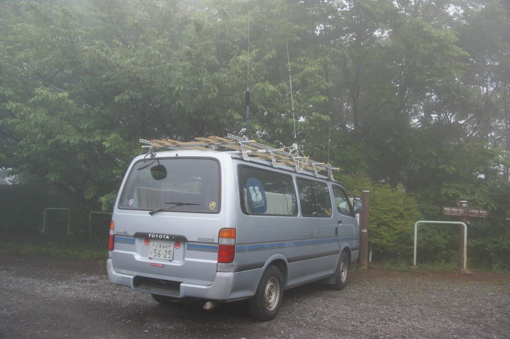 JA1HTD局の車両
