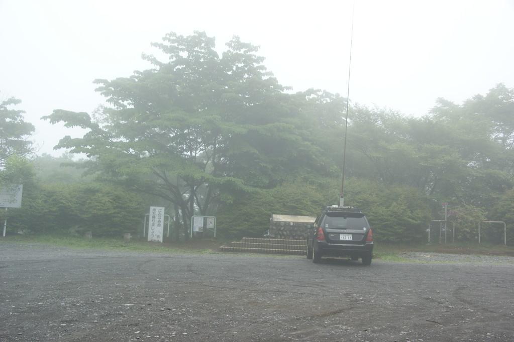 アンテナ設営後のJA1JOL局