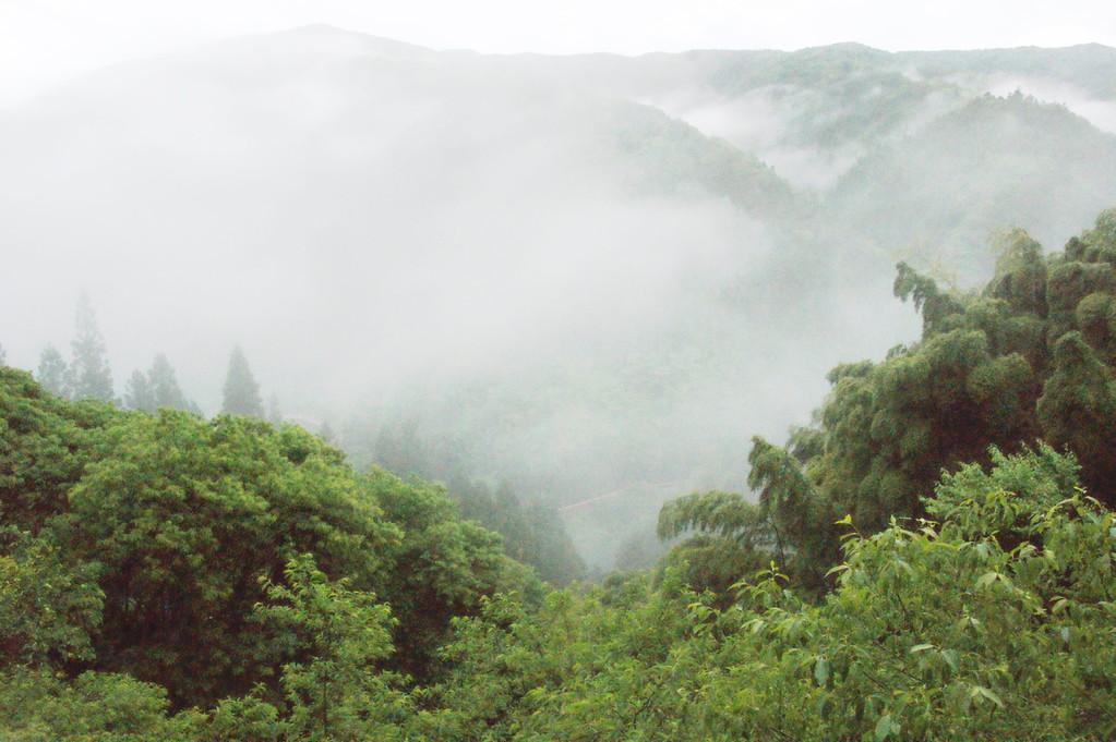 民宿より見る山並み風景 -2
