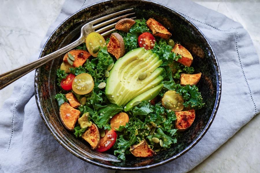 für gesundes, veganes und leckeres Essen wird gesorgt
