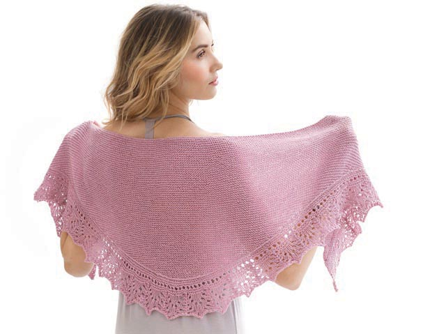 SQUALL SHAWL Designed by Linda Voss Plummer