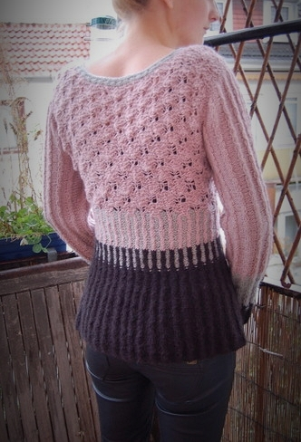 Pullover aus Rimu, fingering weight