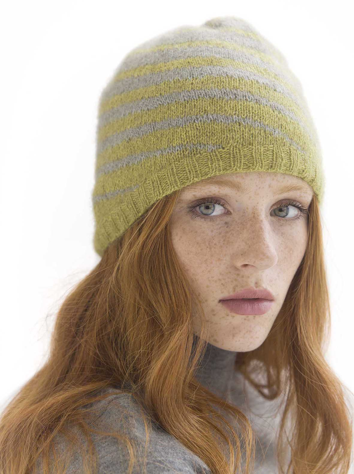 CORIOLIS HAT- Designed by Lisa Silverman