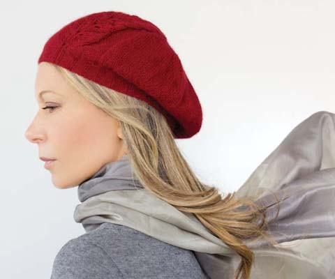 LEAF PANEL BERET- Designed by Kim Haesemeyer