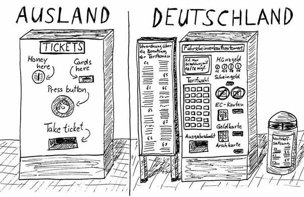 Было бы смешно, если бы не было так грустно: зарубежье и Германия (credits: Schlecky Silberstein)