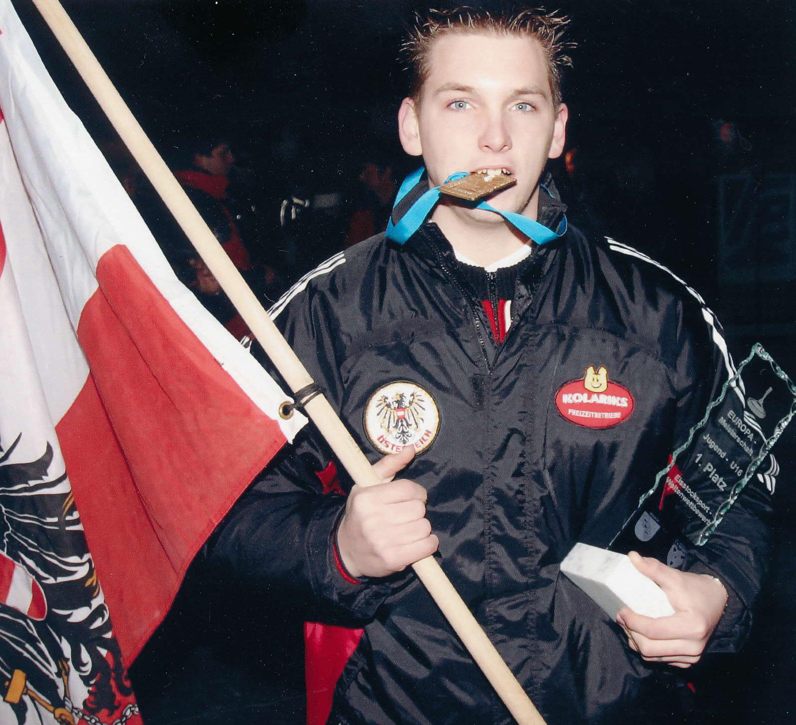 Lukas Pulay Europameister U16 2005