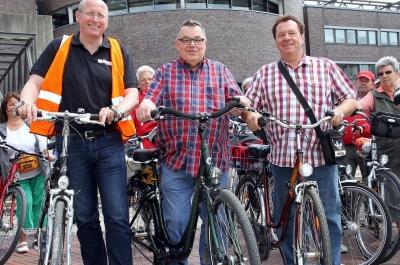 Frank Martin, Klaus Peter und Hartmut Büttner (Quelle: Hans-Werner Burgdorff)