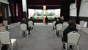 コロナ禍の葬儀(名古屋テレビ)