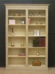 8.  Bibliotheek op maat , steeds met afstelbare planken