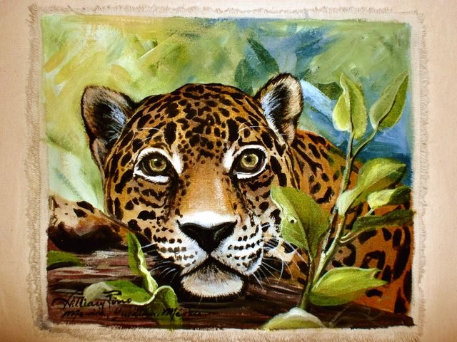 """""""Jaguar, 2011"""" 20 x 30 cm."""