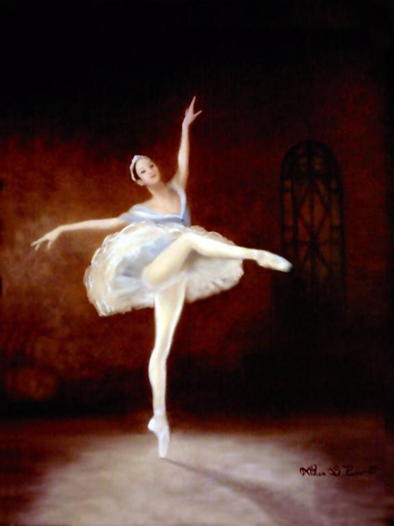 """Ballet, 1999"" 30 x 40 cm."