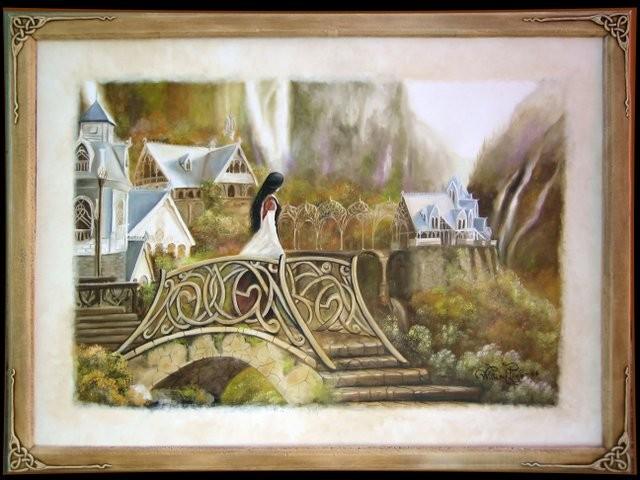 """""""Arwen, 2006"""" 60 x 80 cm."""