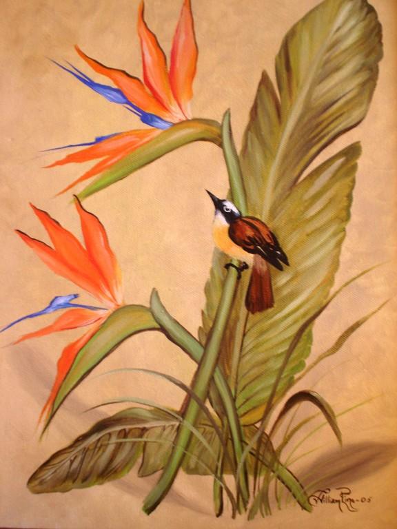 """""""Aves, 2005""""  30 x 40 cm."""