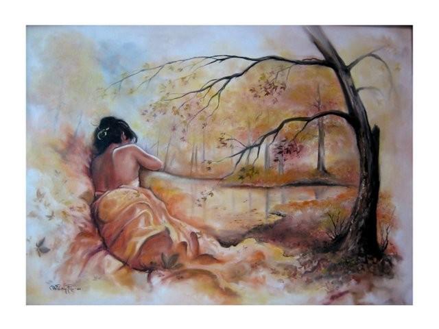 """""""Otoño, 2006"""" 50 x 70 cm."""