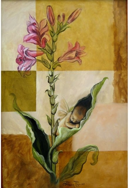 """""""Creación, 2006"""" 35 x 45 cm."""