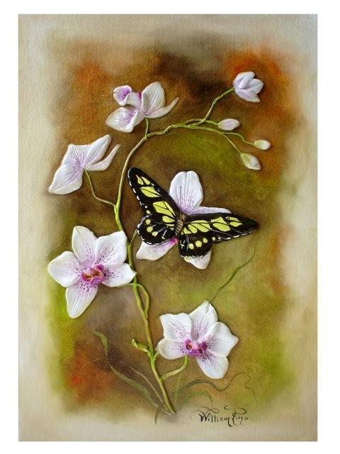 """Mariposa, 2007"" 20 x 30 cm."