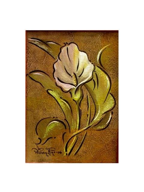 """Lirio, 2006"" 25 x 30 cm."