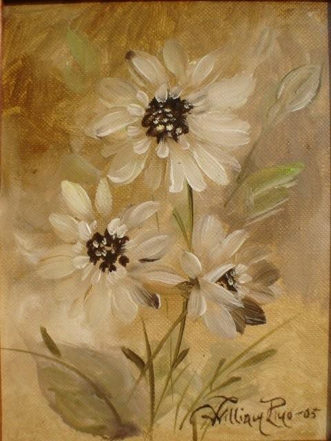 """""""Flores silvestres, 2005"""" 10 x 15 cm."""