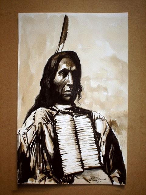 """""""Mohicano, 2005"""" 20 x 30 cm."""