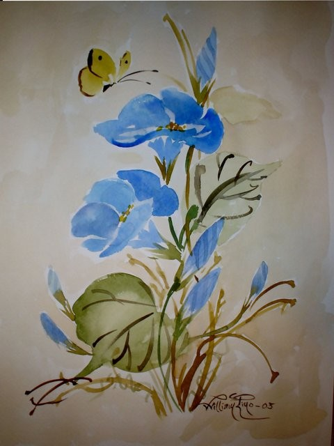 """Gloria de Mañana, 2005"" 20 x 30 cm."