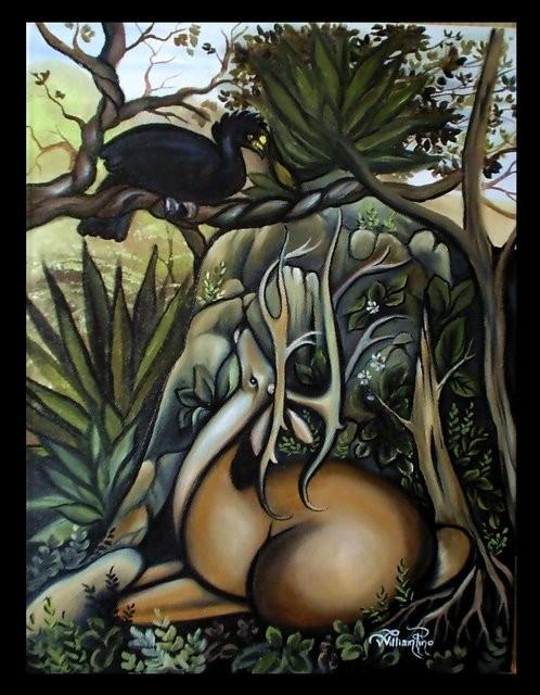 """La Tierra del Mayab, 2004"" 30 x 40 cm."