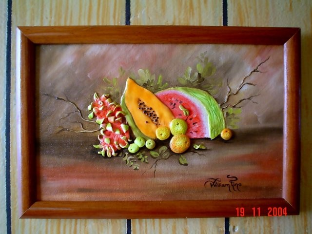 """""""Frutas de Yucatán, 2004"""" 20 x 30 cm."""