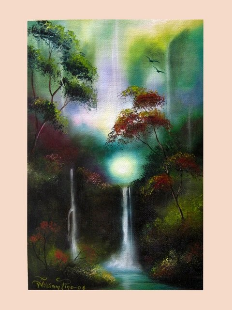 """Cascada1, 2006"" 20 x 30 cm."