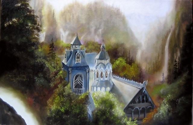 """Rivendell, 2005"" 25 x 35 cm."