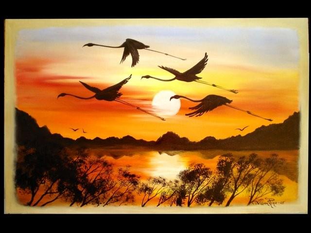 """""""Ocaso, 2005"""" 30 x 40 cm"""