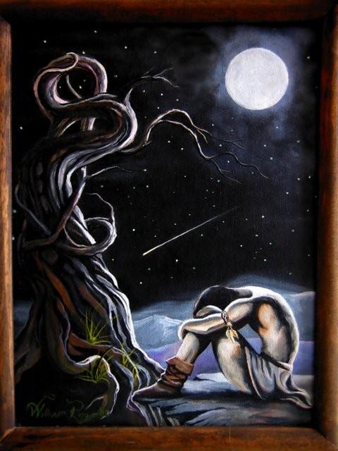 """""""La Estrella de los Deseo, 2006"""" 20 x 30 cm."""
