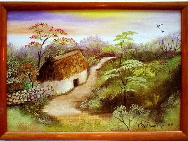 """""""Paisaje Yucateco, 2005"""" 20 x 30 cm."""