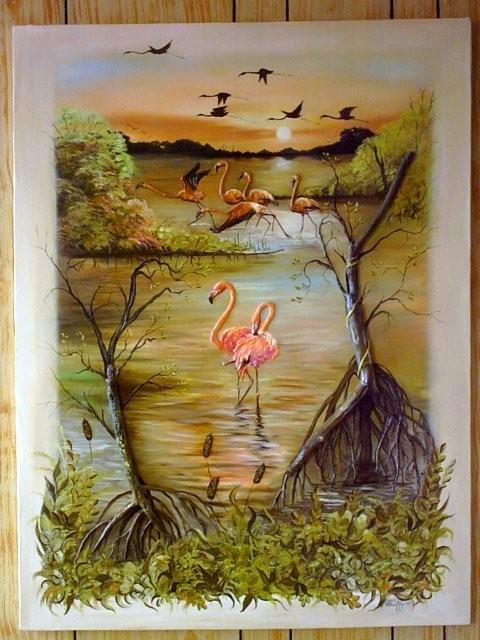 """Celestún, 2004"" 50 x 70 cm."