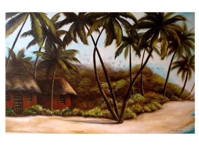 """""""La Playa, 2006"""" 80 x 100 cm."""