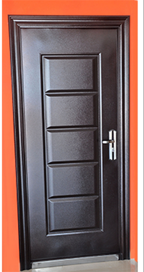 Puertas de seguridad puertas autom ticas y de garaje for Puertas de herreria para entrada principal