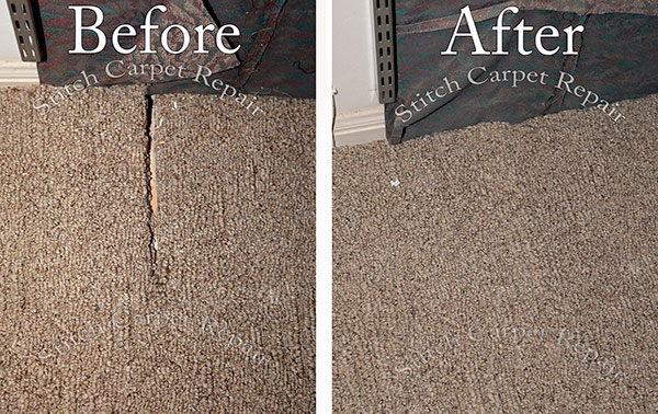 Berber carpet repair patch hole from built in shelve Austin Round Rock Cedar Park Manor Bee Cave San Marcos