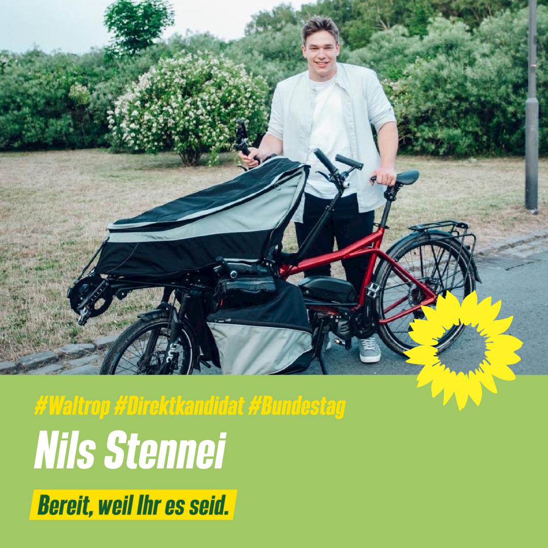 Nils Stennei - Grüner Direktkandidat für den Bundestag