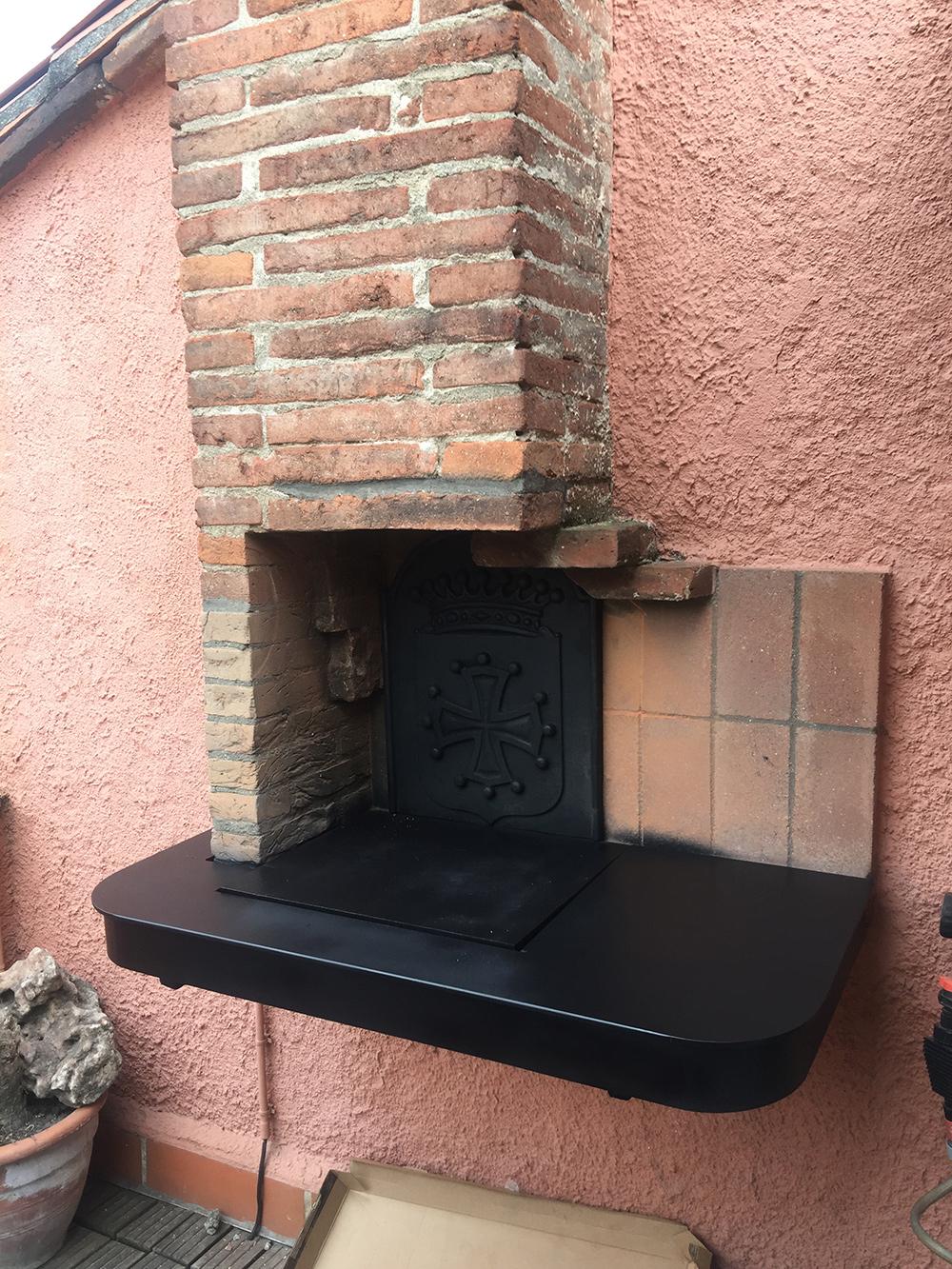 Rénovation d'un barbecue - Après travaux