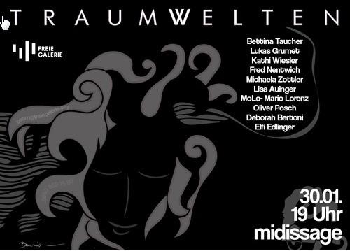 Mario Lorenz, MaLo Magic Blue, Freie Galerie, Graz, 2014, Midissage, Vernissage, Künstler, Maler, Ausstellung, Steiermark, Kunst