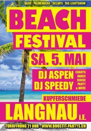 Langnau, DJ Aspen, DJ Speddy, Kupferschmiede, Beach Party, Mai 2012